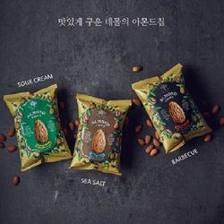 테몰 아몬드칩 3종 (천일염 사워크림 바비큐)