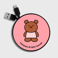 Kids bear-pink(스마트릴)
