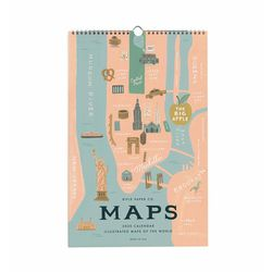 City Maps Wall Calendar