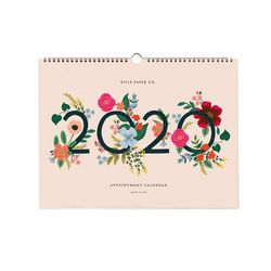 Wild Rose Appointment Calendar