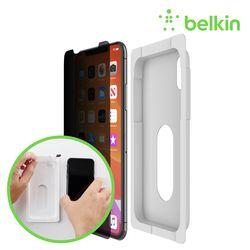 벨킨 아이폰11 프라이버시 강화유리 보호필름 F8W957zz