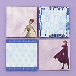 디즈니 겨울왕국 2 안나 떡메모지