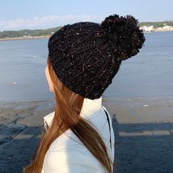 럽 꽈베기 비니 털 모자