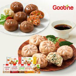 [무료배송] 굽네 육즙가득 닭가슴살 만두 3종 10팩 골라담기