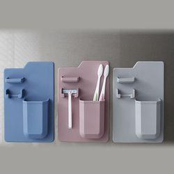 파스텔 실리콘 칫솔거치대 3color