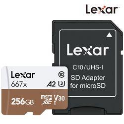 렉사공식판매원 microSD카드 667배속 256GB