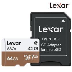 렉사공식판매원 microSD카드 667배속 64GB