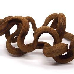 파충류 덩굴 유목 M (모양 사이즈 랜덤)