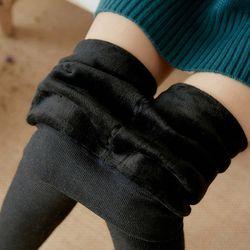밍크 융털 기모 레깅스 타이즈 면80 짱 쫀쫀