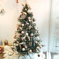 카페골드 크리스마스 트리세트 180cm(앵두전구 1개추가)
