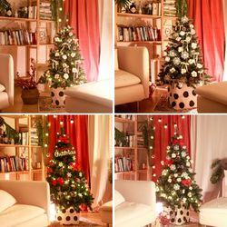 북유럽 감성 크리스마스 트리 4종 모음