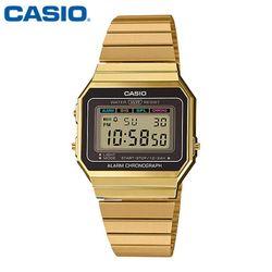 카시오 시계 A700WG-9A  메탈밴드 공용 전자시계 패션시계