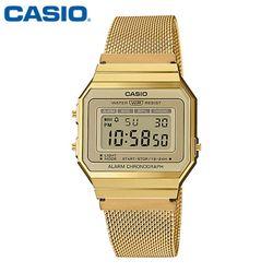 카시오 시계 A700WMG-9A 메탈밴드 공용 전자시계 패션시계