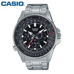 카시오 시계 MTP-SW320D-1A 메탈밴드 남성용 패션시계