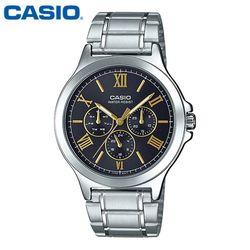 카시오 시계 MTP-V300D-1A2U 메탈밴드 남성용 패션시계
