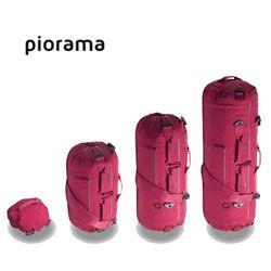 Piorama 3단변형 A10 더플백 백팩 겸용 세계일주 가방 레드