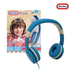 리틀타익스 어린이전용키즈헤드폰 청력보호(블루)