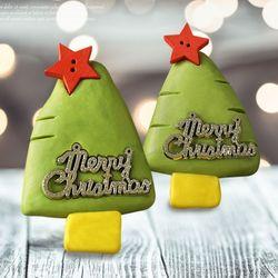 크리스마스트리비누만들기(4개)