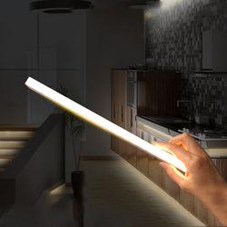 멀티탁 무선 LED 센서등 바 타입 건전지 사용 주광