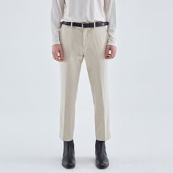 MINIMAL STRAIGHT FIT SLACKS IVORY