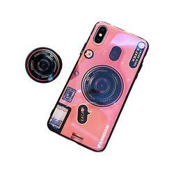 아이폰5S 홀로그램 카메라 톡 커버 젤리 케이스 P379