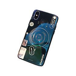 아이폰5 홀로그램 카메라 톡 커버 젤리 케이스 P379