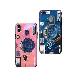 갤럭시S8 홀로그램 카메라 톡 커버 젤리 케이스 P379