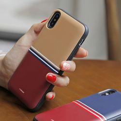 [T]심플라인 도어범퍼 케이스.LG G7(LM-G710)