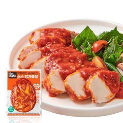 슬라이스 소스 닭가슴살 토마토로제 150gx50팩(7.5kg)
