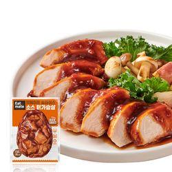 [무료배송] 슬라이스 소스 닭가슴살 토마토스테이크 150gx10팩(1.5kg)