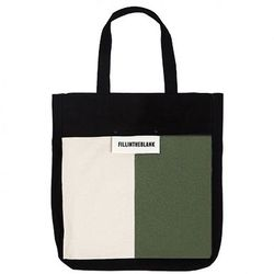 Blank Eco Bag (black-wh-kh)