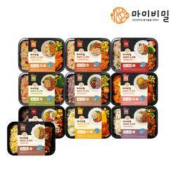 라이킷 식단관리 도시락 10팩 구성 (15종)