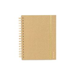 MEDIUM 12-MONTH ANNUAL PLANNER - GOLD GLITTER (2020년)