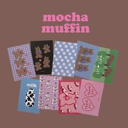 muse mood postcard ver.13 mocha muffin