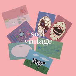 muse mood postcard ver.14 soft vintage