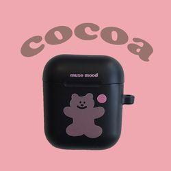 [뮤즈무드] cocoa airpods case (에어팟케이스)
