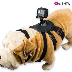 마젠타 고프로 액션캠 도그 하네스 애완견 마운트