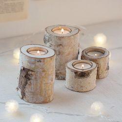 자작나무 촛대-사이즈(소)