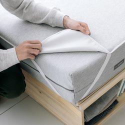 매트리스 침대 방수패드 싱글