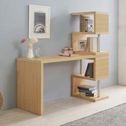 제이드 1600 미니 책상 세트 (미니 지그재그 4단책장형)