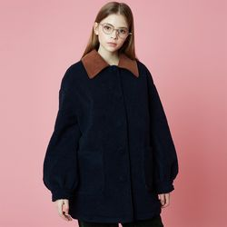 Fleece Coat [Navy]