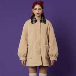 Fleece Coat [Ivory]