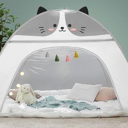 따뜻한집 원터치 난방텐트 하이캣 12인용(투명창)