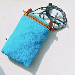 Travel mini bag (blue)