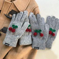 cherry gloves