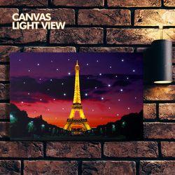 LED캔버스라이트뷰-에펠탑