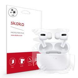 스코코 애플 에어팟 프로 유광 전신 외부보호필름