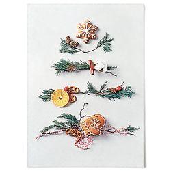 중형 패브릭 포스터 F319 소품 데코 액자 크리스마스 트리 C