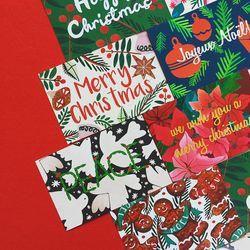 PP 크리스마스 엽서 카드 4종 택 1