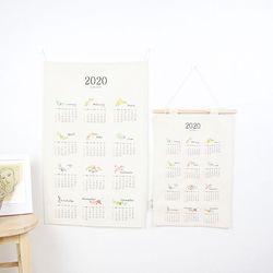 2020 신년 패브릭 캘린더 - 2size